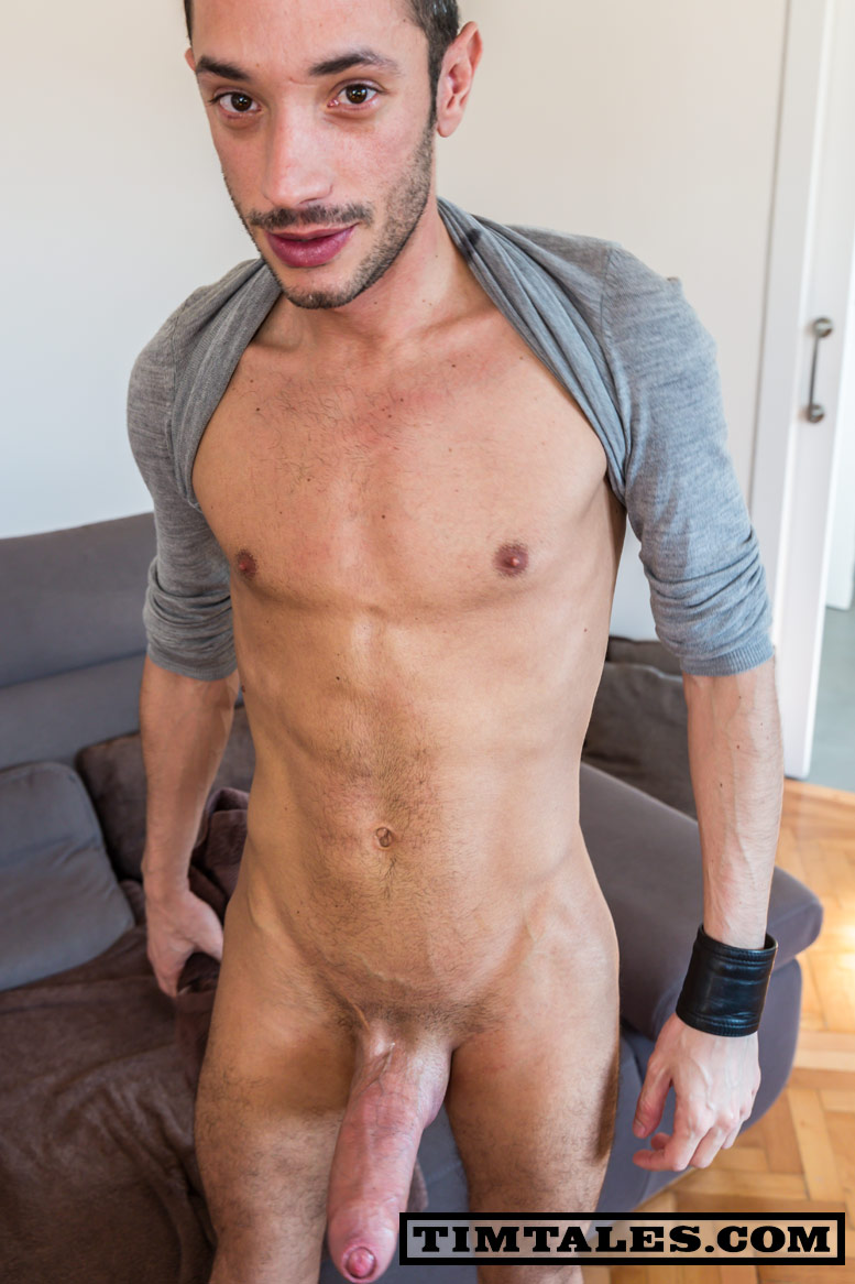 TimTales-Esteban-Biggest-Uncut-Cock-Ever-Amateur-Gay-Porn-Fleshlight-Fleshjack-14 Amateur Spanish Dude Jerks Off The Biggest Uncut Cock Ever!