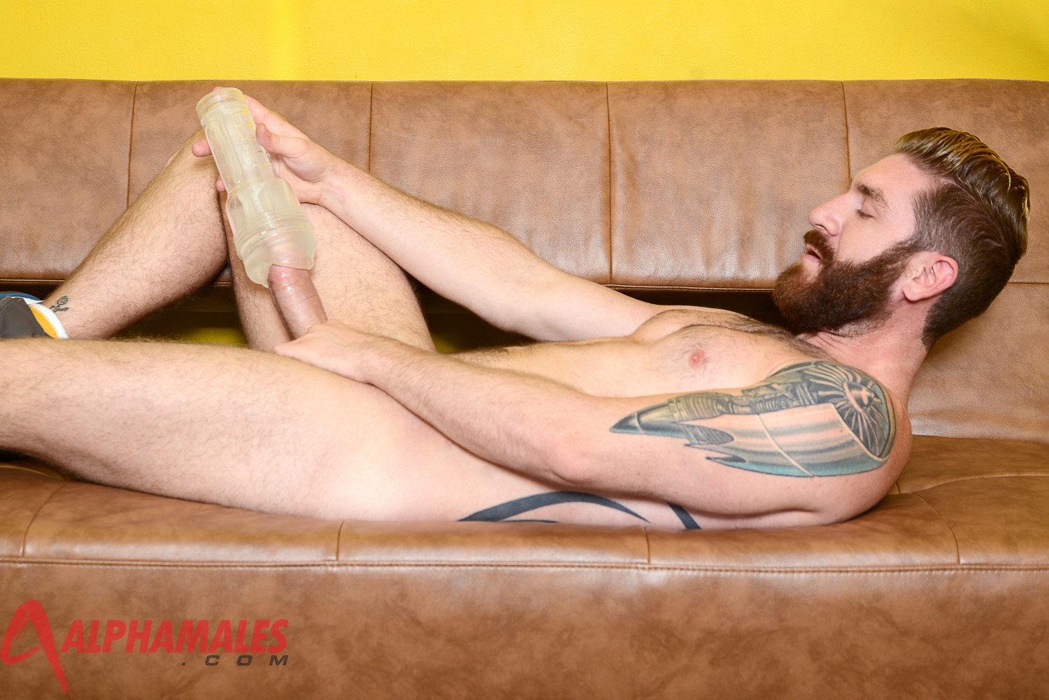 AlphaMales-Geoffrey-Paine-Big-Cock-Fleshlight-Fleshjack-Amateur-Gay-Porn-08 Amateur Hairy Muscle Stud Geoffrey Paine With Big Cock and Fleshjack