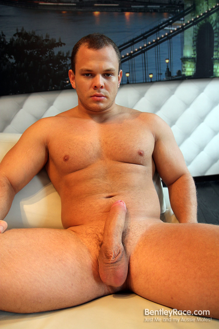 Bentley-Race-Dennis-Conerman-Beefy-Muscle-Cub-With-A-Huge-Uncut-Cock-Amateur-Gay-Porn-10 Amateur Hungarian Beefy Muscle Cub Dennis Conerman and His Thick Uncut Cock