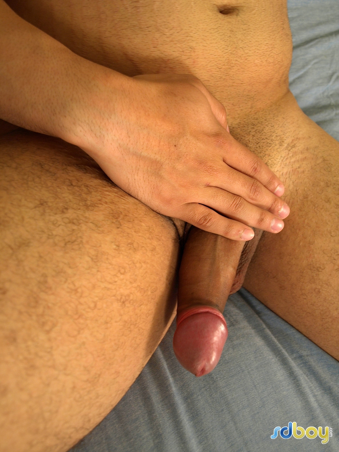 SD-Boy-Ray-Sosa-Big-Uncut-Cock-Latino-Marine-Masturbating-Amateur-Gay-Porn-08 Amateur Gay Latino Marine Shows His Tatts and Jerks His Uncut Cock