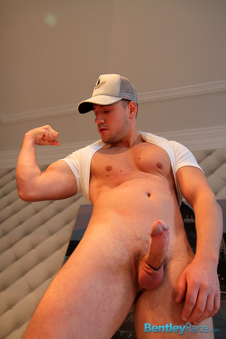 Bentley-Race-Colt-Jeffry-Branson-Big-Uncut-Cock-Jerking-Off-Amateur-Gay-Porn-18 Amateur Straight Muscle Boy Uses a Fleshlight On His Big Thick Uncut Cock