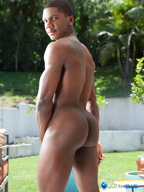 Randy-Blue-Sam-Jose-Black-Guy-Stroking-His-Big-Black-Cock-Amateur-Gay-Porn-06 Amateur Muscle Black Guy Jerks His Big Black Thick Cock With A Fleshjack
