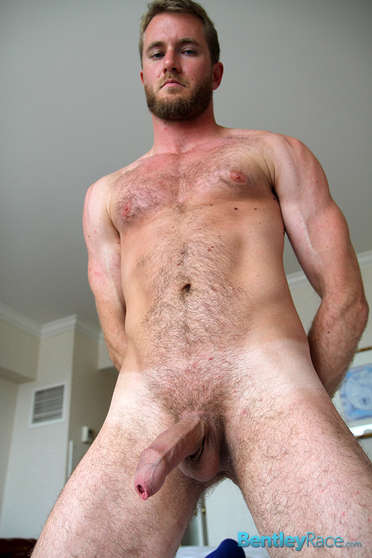 Bentley-Race-Drake-Temple-Big-Hairy-Uncut-Cock-Foreskin-Amateur-Gay-Porn-13 Amateur Hairy 27 Year Old Strokes His Massive Uncut Cock