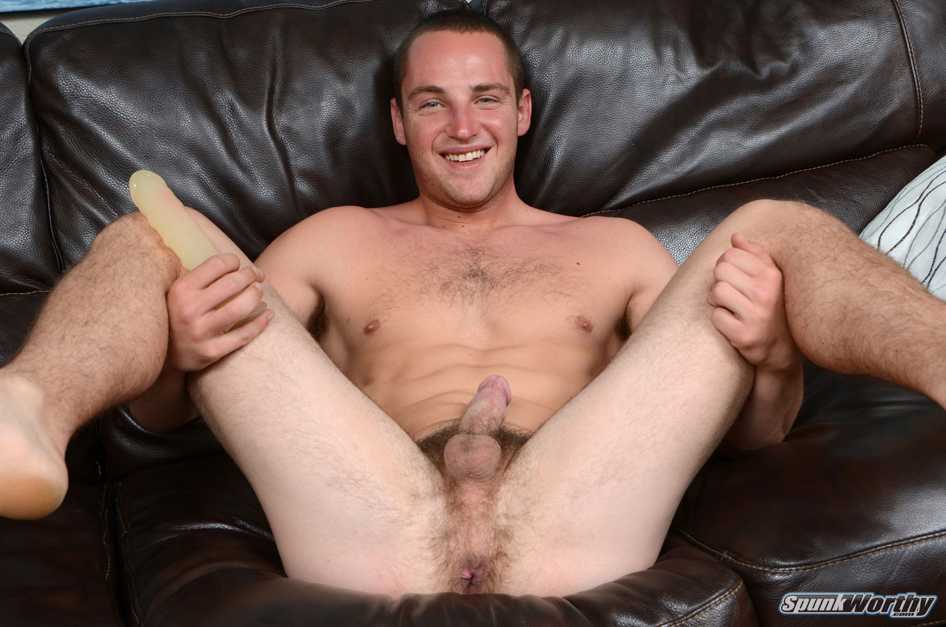 SpunkWorthy-Dean-Straight-Marine-Uses-A-Dildo-On-Hairy-Ass-Amateur-Gay-Porn-04 Ripped Marine Fucks His Striaght Hairy Ass With A Dildo