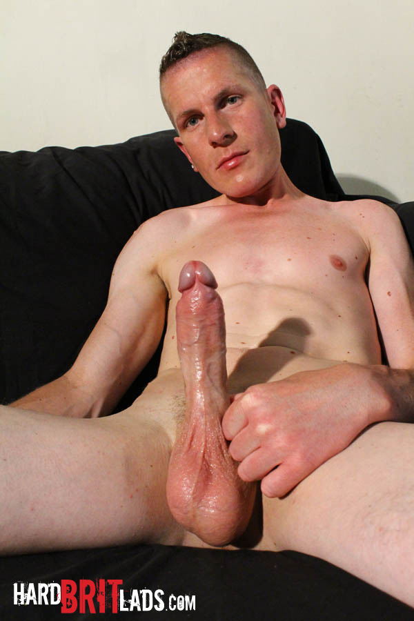 Hard Brit Lads Justin Cole Huge Uncut Cock and Big Balls Masturbating Amateur Gay Porn 11 British Guy With Big Uncut Cock And Huge Balls Jerks His Cock And Fingers His Ass