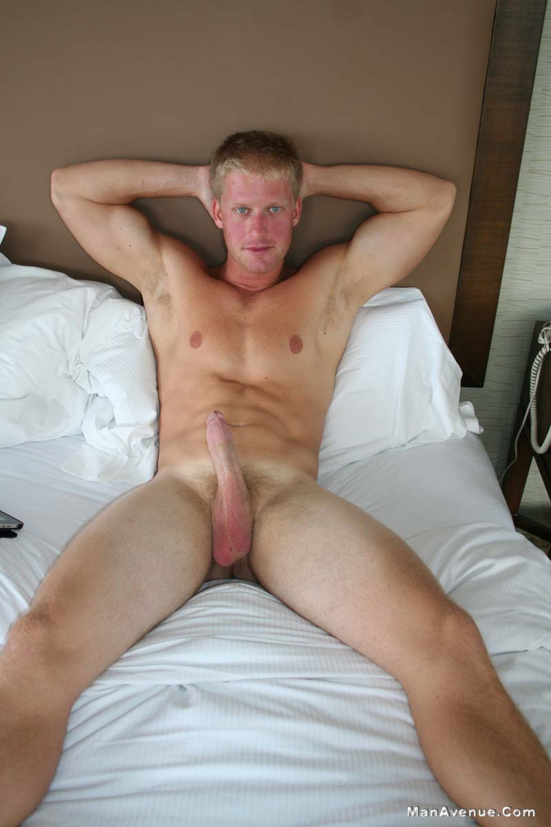 Big Dick Straight Boy Dino Jacks Off