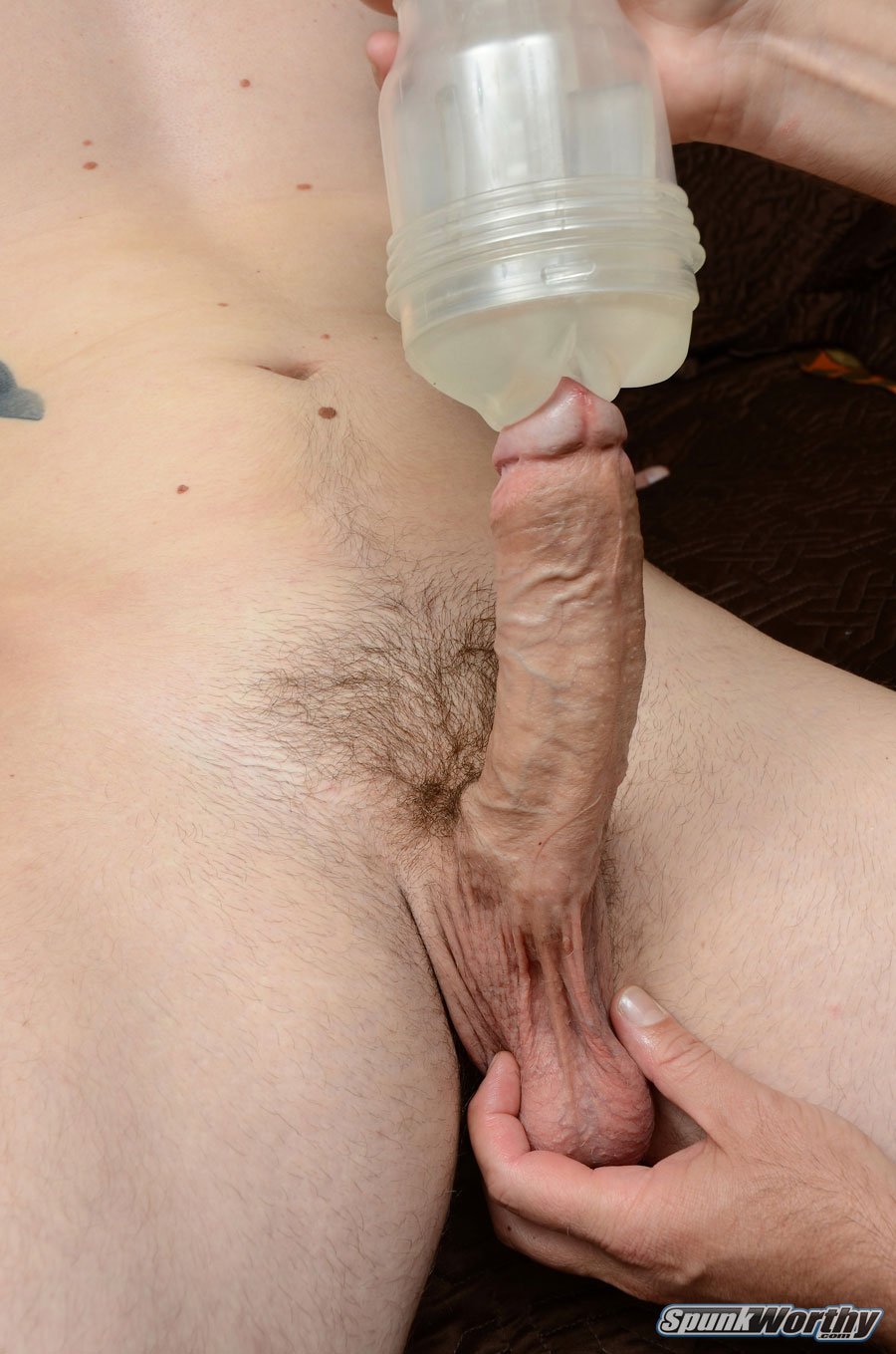 SpunkWorthy Eli Straight Marine Gets A Hand Job Fleshlight from A guy Amateur Gay Porn 11 Straight Marine Gets His First Hand Job From Another Guy