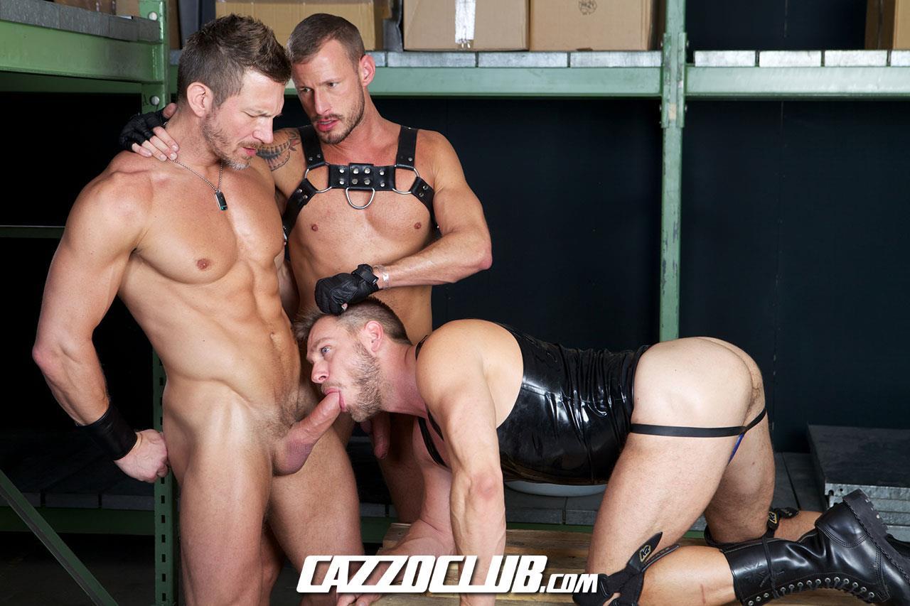 Cazzo Club Hans Berlin Logan Rogue Tomas Brand Big Uncut Cock Guys Fucking Amateur Gay Porn 03 Leather, Muscles, Three Big Uncut Cocks And Agressive Fucking