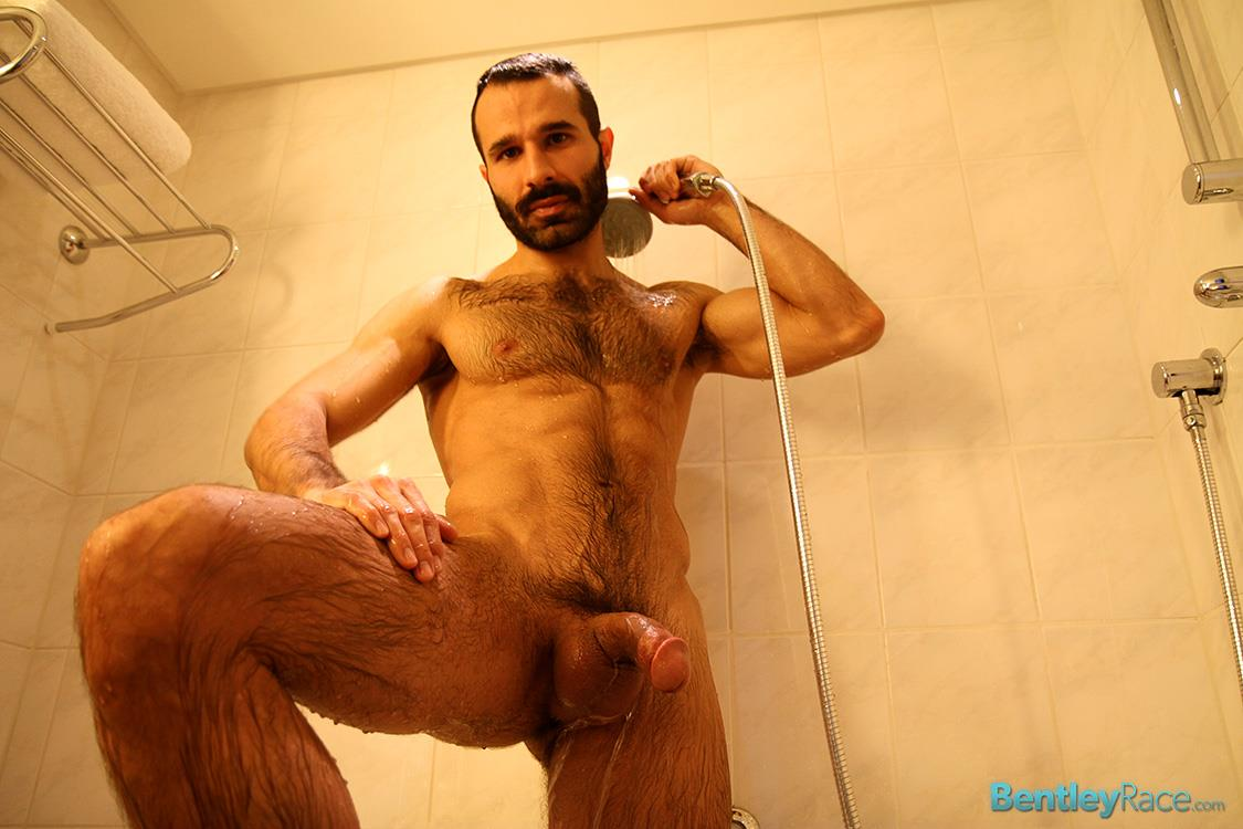 Bentley-Race-Aybars-Hairy-Turkish-Guy-With-A-Huge-Cock-Jerking-Off-Amateur-Gay-Porn-23 Hairy Turkish Guy Aybars Jerking His Thick Cock In The Shower