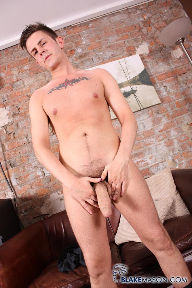 Blake Mason Zak Starr Young British Guy Jerking His Big Thick Uncut Cock Amateur Gay Porn 03 Young British Guy Stroking His Big Thick Uncut Cock