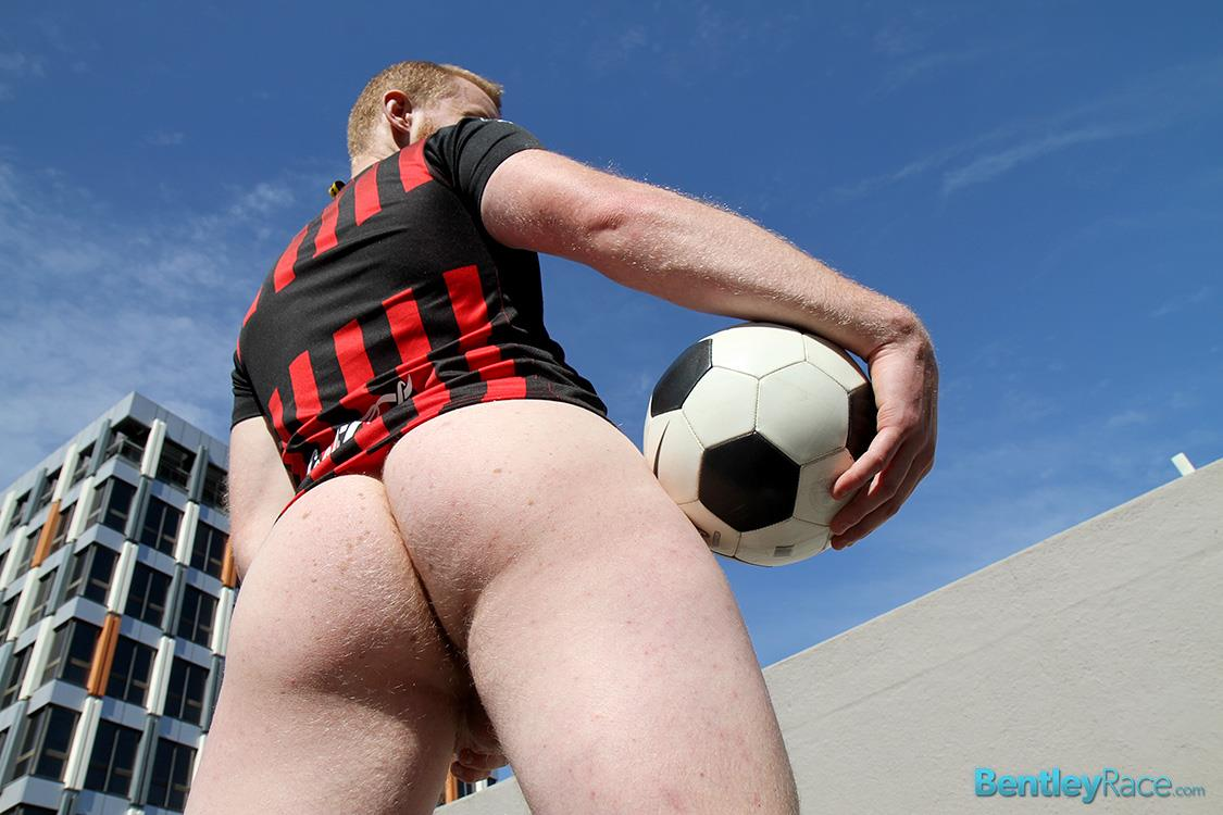 Bentley-Race-Beau-Jackson-Beefy-Redhead-Jerking-His-Big-Uncut-Cock-Amateur-Gay-Porn-34 Redhead Aussie Soccer Player Naked and Stroking A Big Uncut Cock